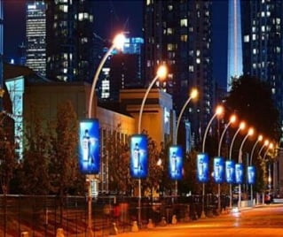 Street Pole LED Billboards